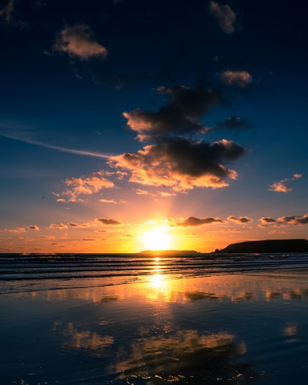 Marloes Sunset Reflections I